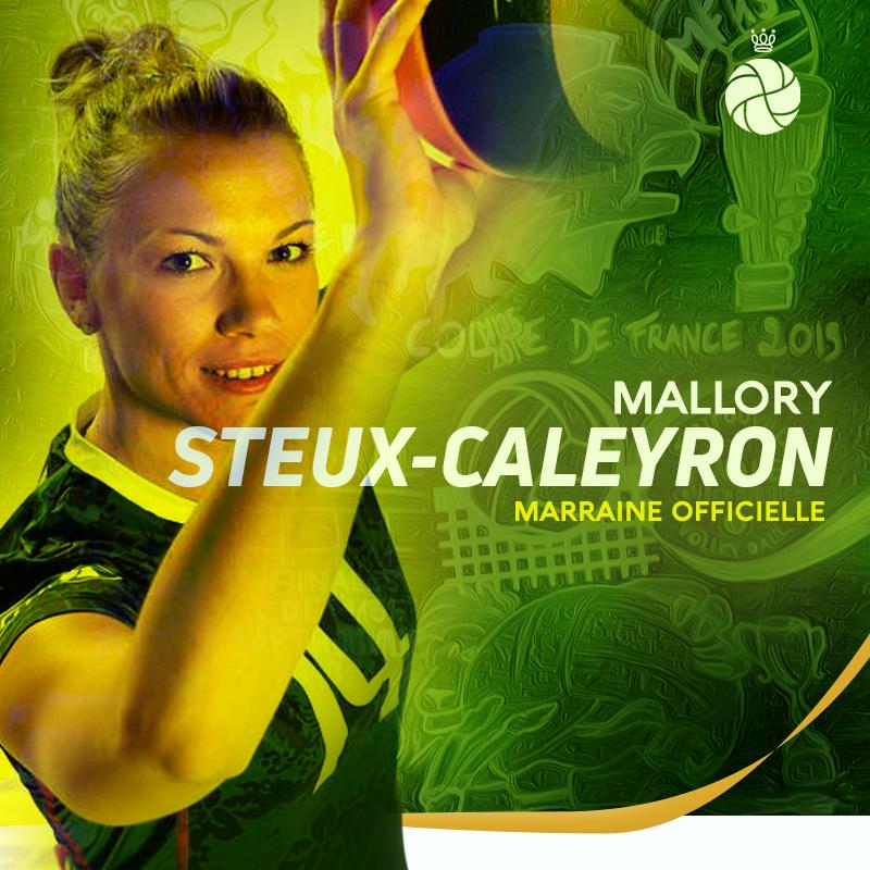 Mallory Steux-Caleyron, marraine de la compétition !