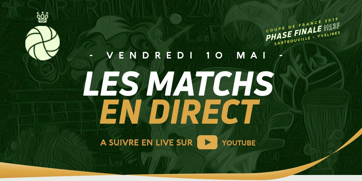 Les Matchs en Direct Video